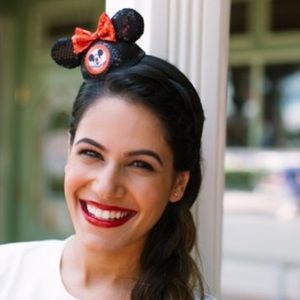 Mickey Mouse Mouseketeer Mini Sequin Hat Headband